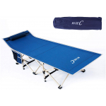 Best Folding Camping Cot with Pillow