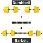 adjustable dumbbell barbell